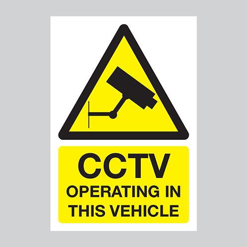 cctv dash cam stickers
