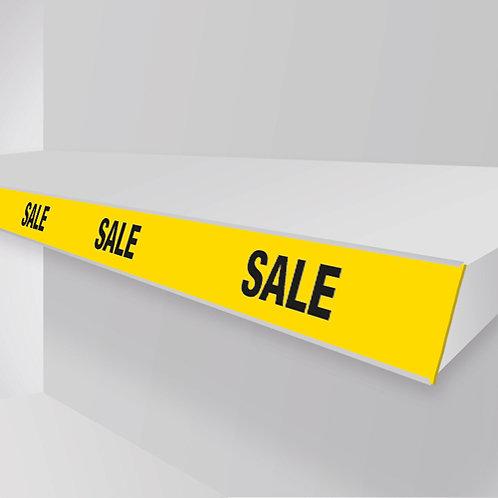 sale shelf strips
