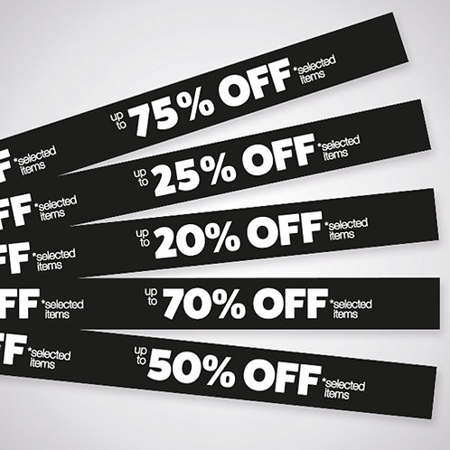 shelf strips, black friday sale