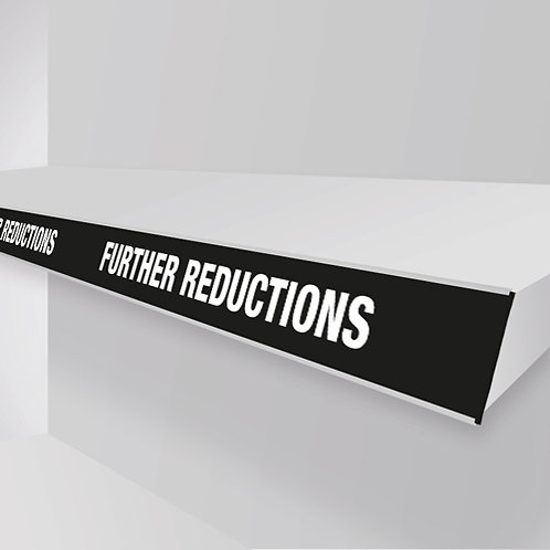 further reductions shelf strips