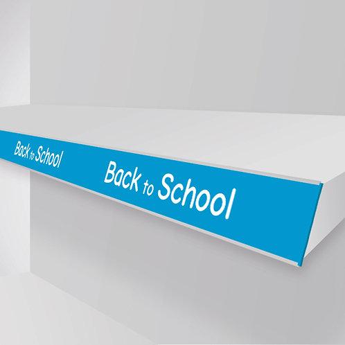 back to school shelf strips