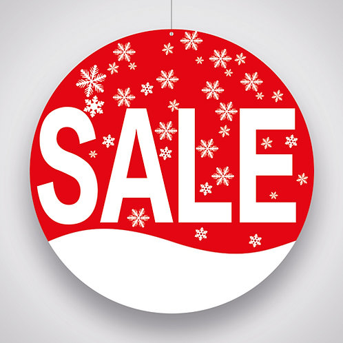 sales, hanging signs, winter sales, retail shop pos