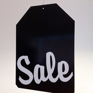 Hanging SALE Sign
