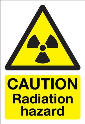caution radiation hazard, health and safety