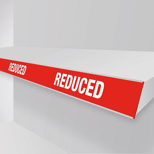 reduced shelf strips