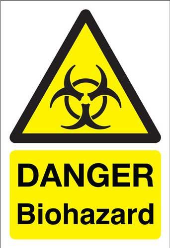 danger bio hazard, health and safety