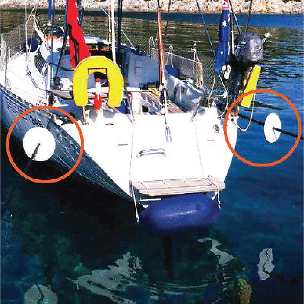 Rat Guard Stopper Discs Boats Yachts Graphics Uk