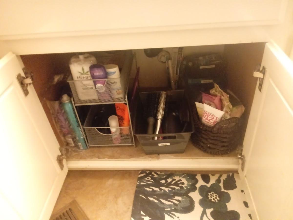 Under bathroom cabinet-AFTER