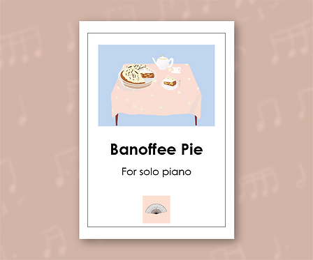 Banoffee Pie for solo piano
