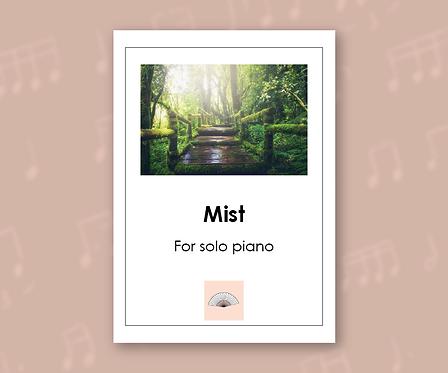 Mist for Solo Piano