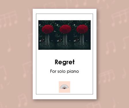 Regret for Solo Piano