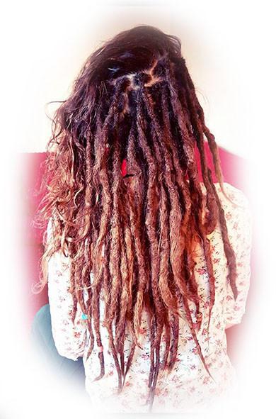 Half Dreads / Half Loose Hair