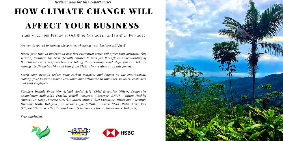 Understanding Sustainability and Climate Risks: How Climate Change Will Affect Your Business- Part 1