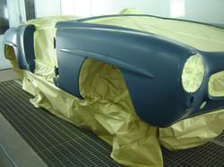 Mercedes 190 SL DB 350 Mittelblau