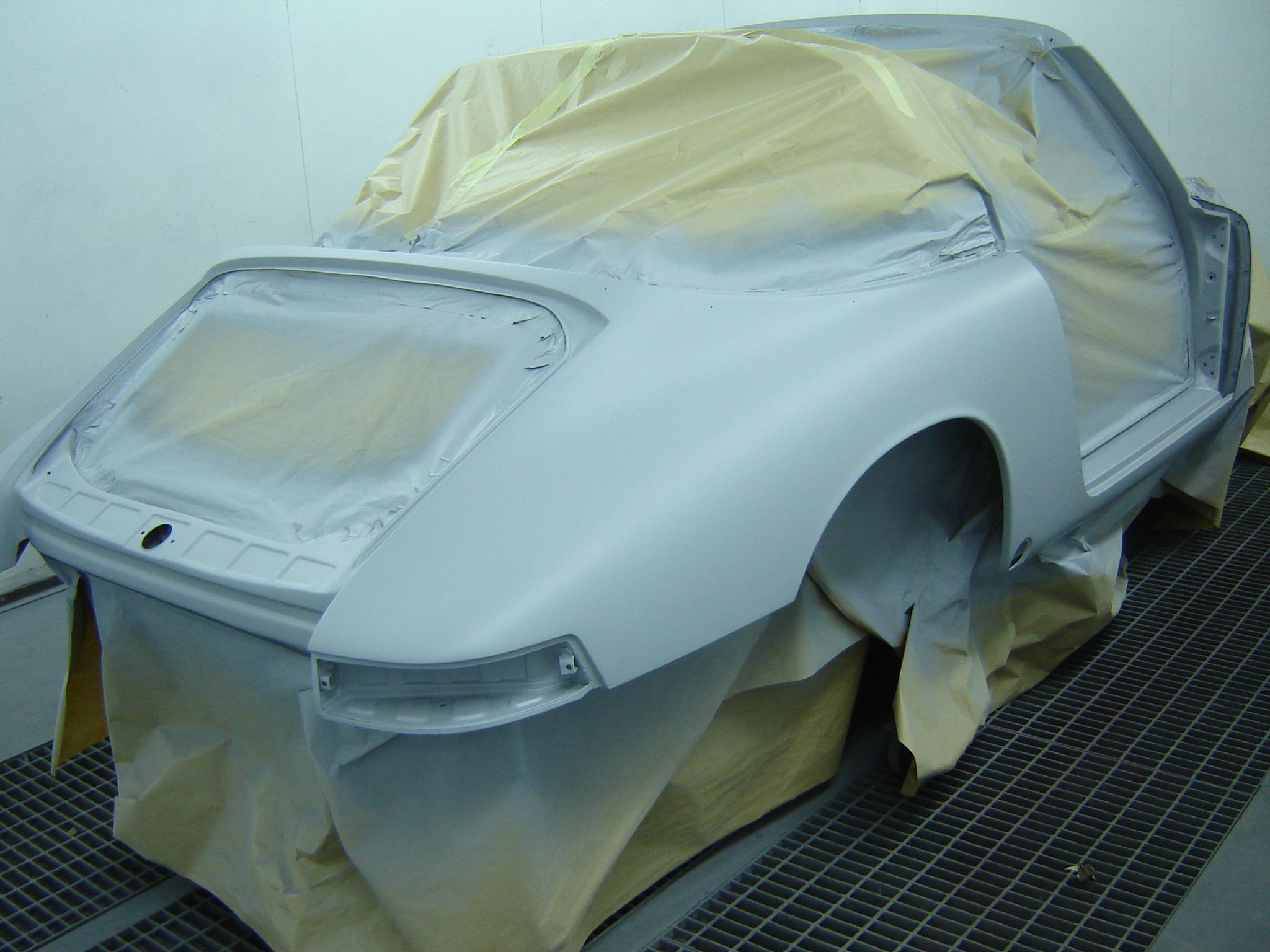 Porsche 911 Targa softwindow