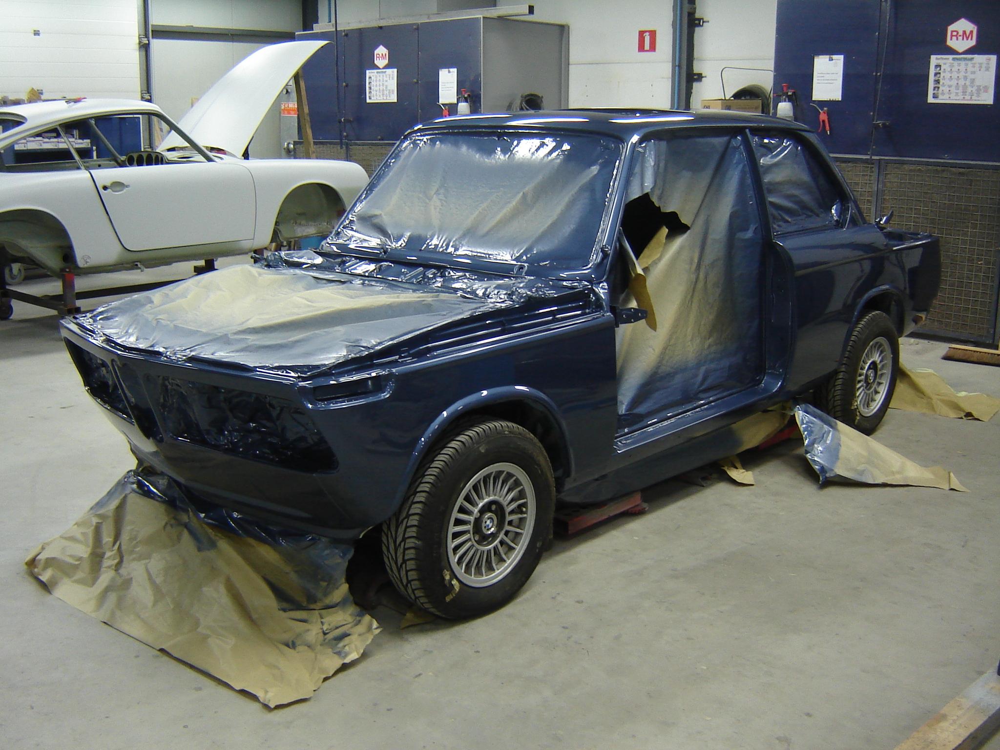 BMW 2002 rally