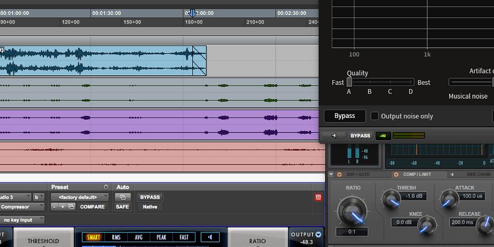 Recording workshop - full course / Season 2