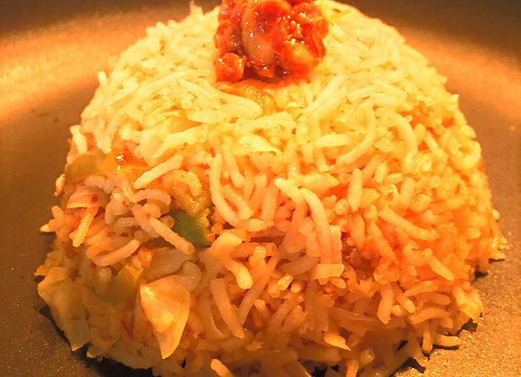 Red Chilli Masala Rice
