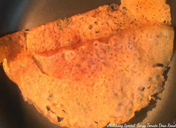Tangy Tomato 🍅 Dosa Roast
