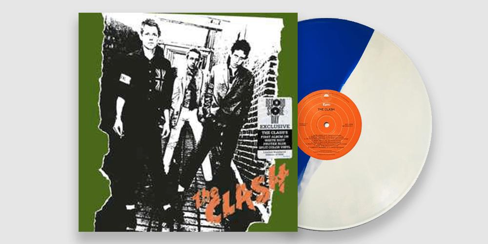 The Clash Coloured Vinyl