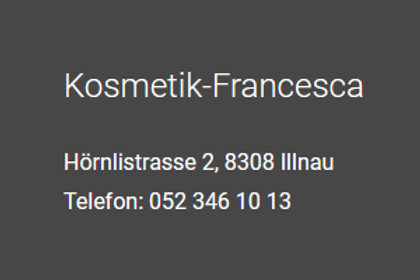 Kosmetik-Institut Francesca