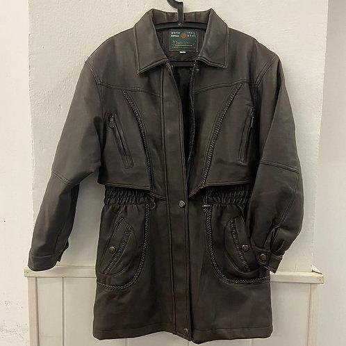 Abrigo mujer marrón