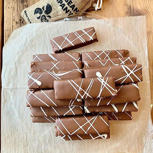6 Bar Chocolate Box - Salted Caramel Peanut Bar