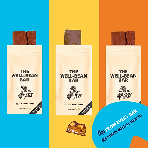 Mixed Box | Salted Caramel Peanut, Orange & Mylk Chocolate 50g | Box of 8