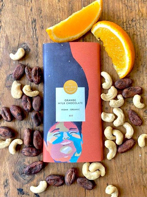12 Bar Chocolate Box -  Orange Mylk Chocolate (80g bars)