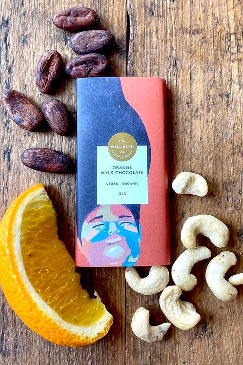 Snack Bar 25g - Orange Mylk Chocolate