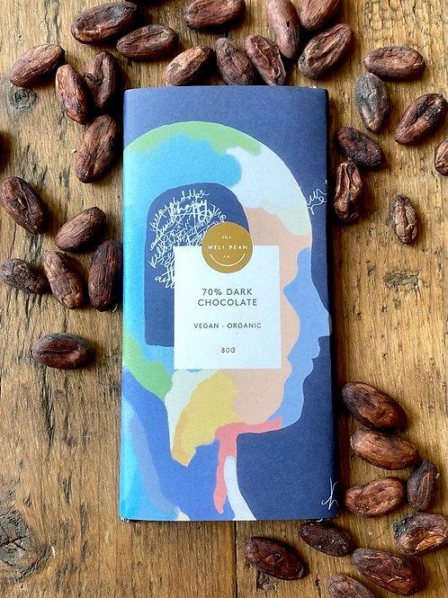 80g Bar - 70% Dark Chocolate