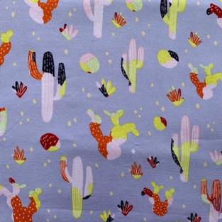 Cactus On Mauve