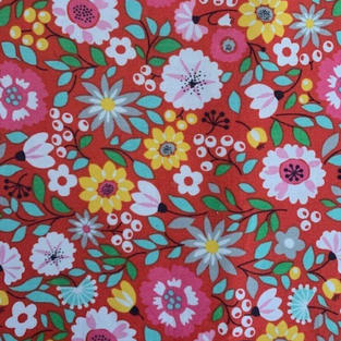 Red Mix Floral