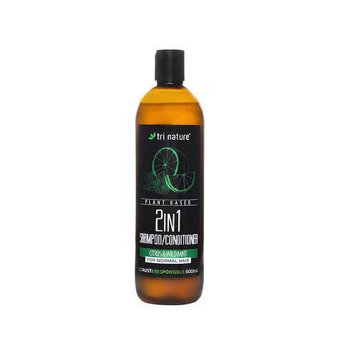 2 IN 1 Shampoo / Conditioner 500ml