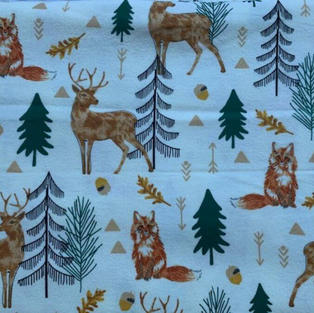 Deers In The Forest