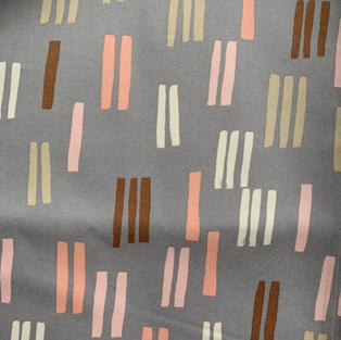 Strips On Grey