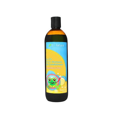 Kids 2 in 1 Shampoo / Conditioner 500ml
