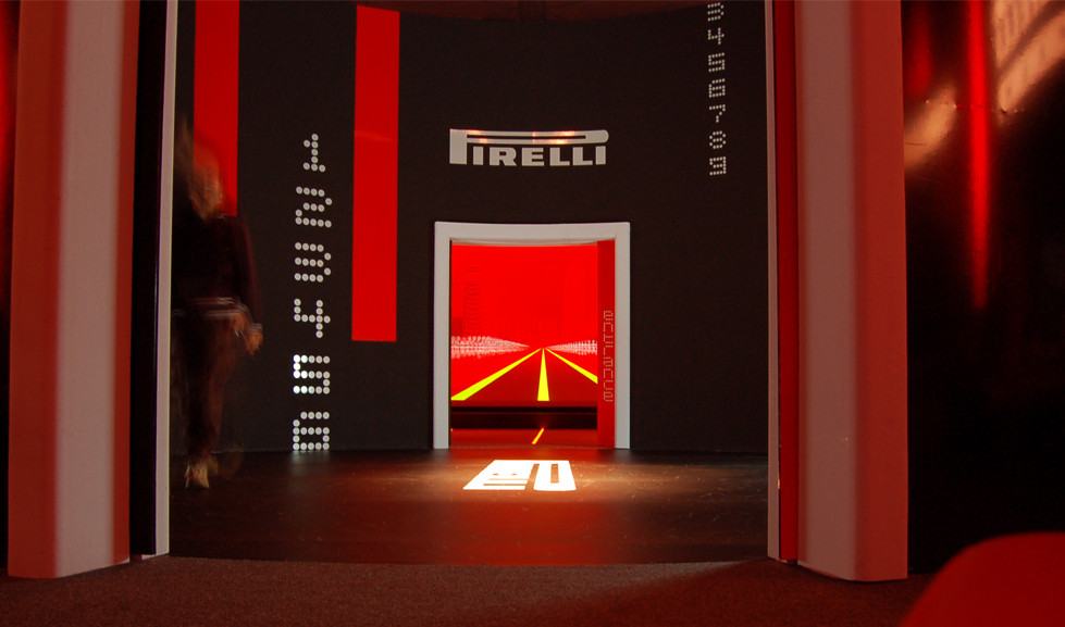 Allestimento area foyer | Mission Zero Movie International Launch – Staging and set up