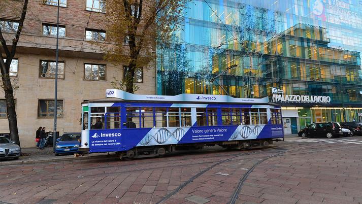 Pubblicità dinamica | Tram advertising