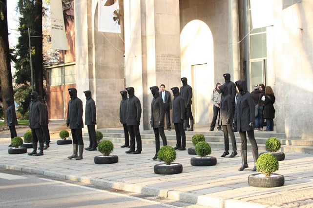 Allestimento esterno Museo Triennale | Museo Triennale Milan – External Set-up