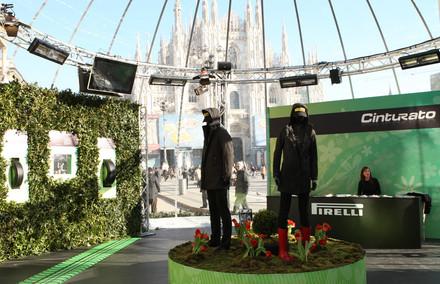 Allestimento cupola | Dome set-up