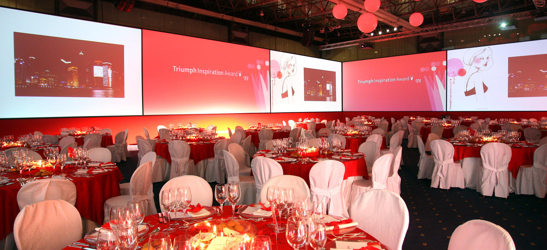 Gala Dinner Set-up