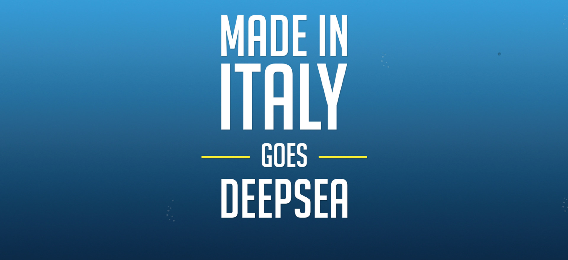 Redaelli Flexpack  - Made in Italy goes deepsea