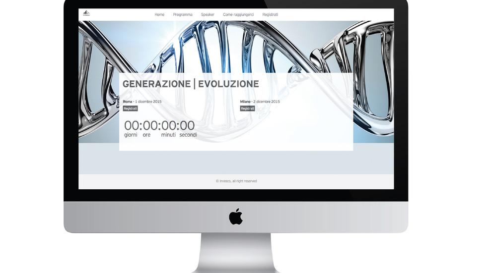 Sito web dedicato / Campagna banner e mailing | Dedicated web site / ADV Banner and mailing