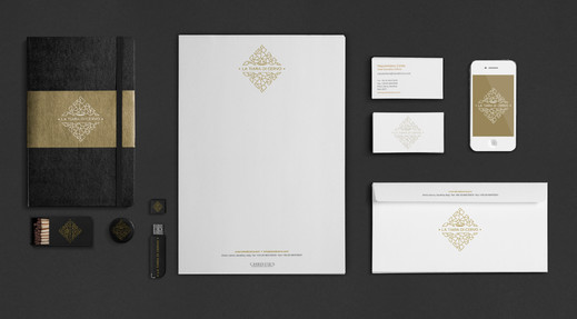 Naming, design logo and stationery
