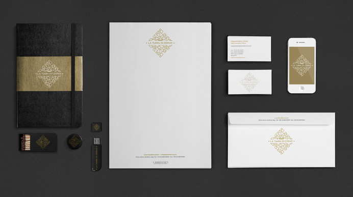 Naming, design logo and stationery
