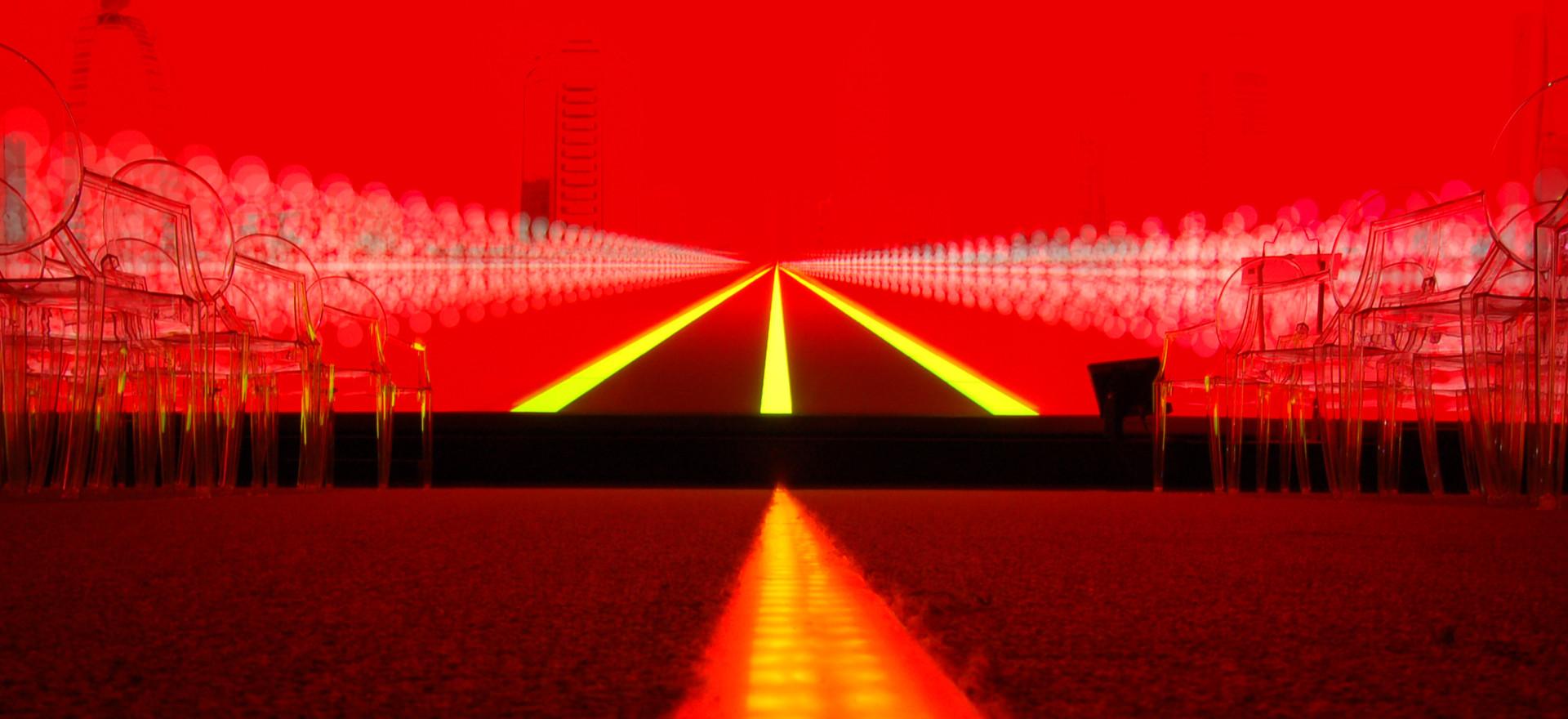 Proiezioni video e light design | Video projection and light design