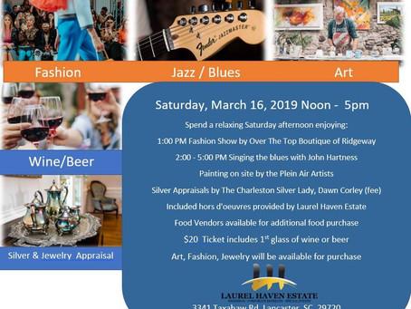 Laurel Haven Estate Set to Host March 16, 2019 Lancaster Event