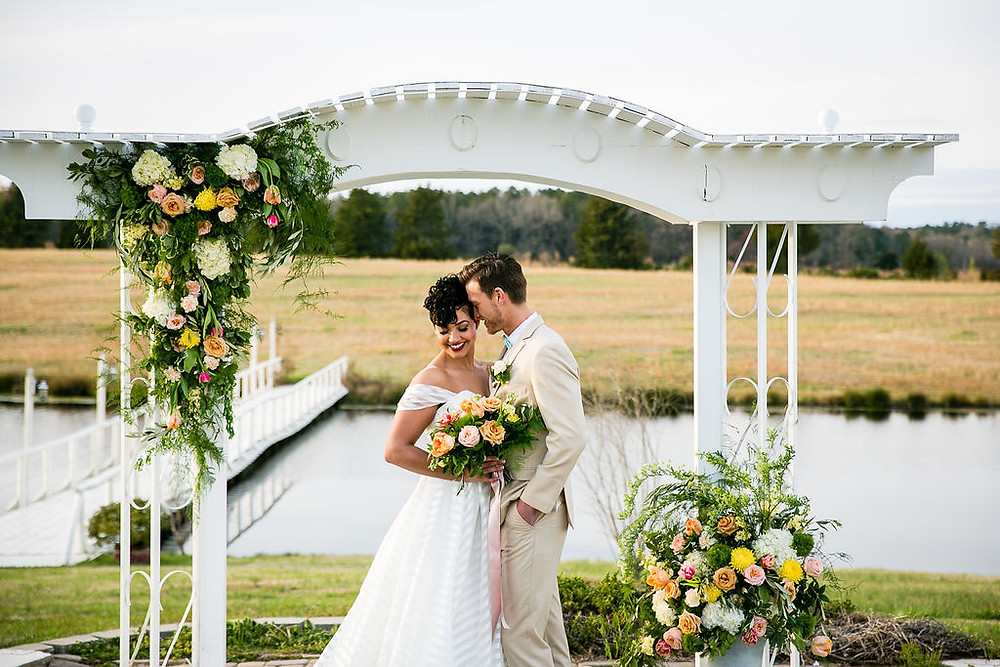 Charlotte outdoor wedding