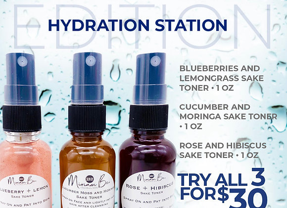Hydration Station Special 3 for $30